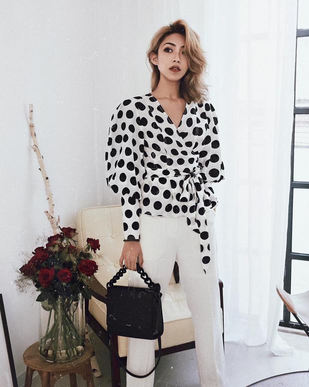 Áo blouse kiểu quý tộc đang được hội chị em sao Hàn mê mệt, bánh bèo là thế nhưng lên đồ lại sang chảnh khó tin - Ảnh 11.