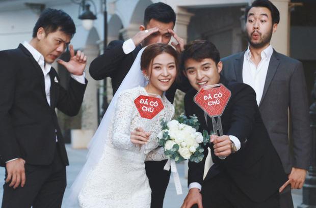 Ngắm trọn loạt ảnh cưới của cặp Người ấy là ai: Từ ướt át đến tái hiện lại khung cảnh nơi anh gặp em - Ảnh 12.