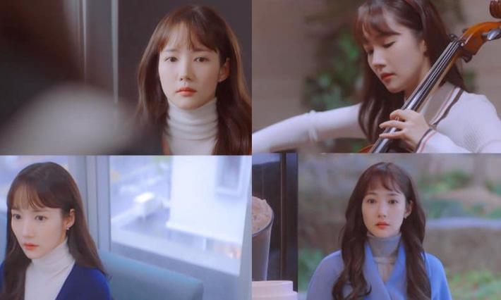 """Toang như Park Min Young trong phim mới: Tóc mái mưa """"ngố tàu"""" phản chủ lại thêm style vẽ eyeliner dìm sắc - Ảnh 2."""