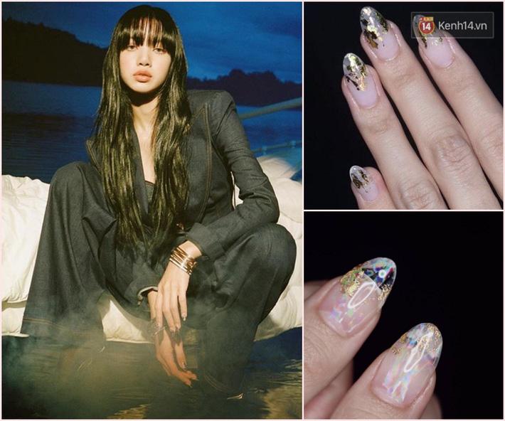 Làm nail kiểu Lisa: Không tô vẽ cầu kỳ mà toàn đính đá lồng lộn, nổi bần bật không trượt phát nào - Ảnh 6.