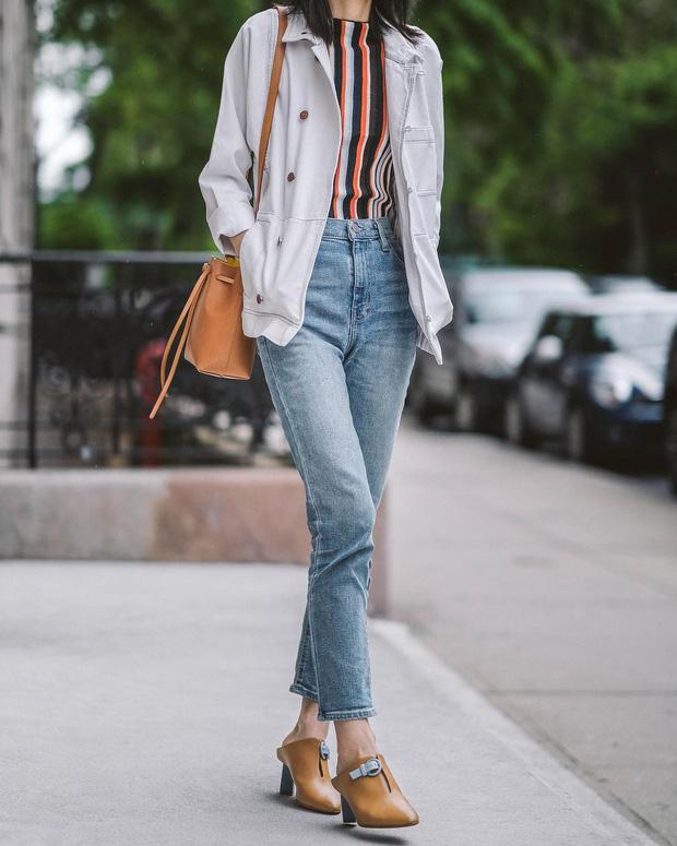 Mãi đến tận bây giờ, tôi mới biết đây là 4 dáng quần jeans mà người đùi to như tôi có thể mặc đẹp - Ảnh 6.