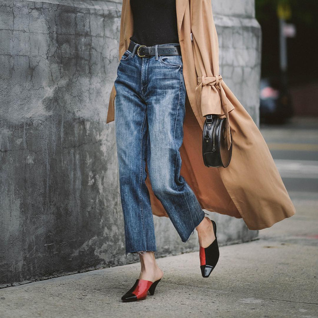 Mãi đến tận bây giờ, tôi mới biết đây là 4 dáng quần jeans mà người đùi to như tôi có thể mặc đẹp - Ảnh 8.