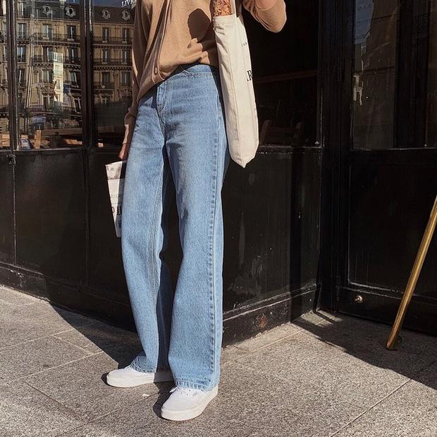 Mãi đến tận bây giờ, tôi mới biết đây là 4 dáng quần jeans mà người đùi to như tôi có thể mặc đẹp - Ảnh 4.