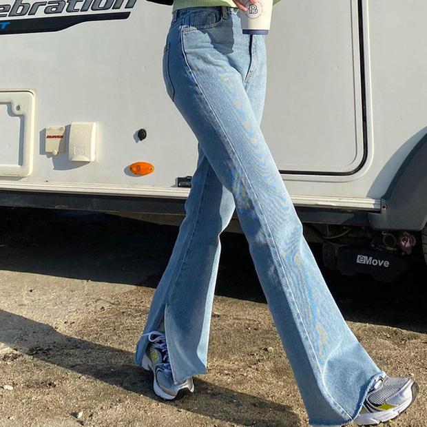 Mãi đến tận bây giờ, tôi mới biết đây là 4 dáng quần jeans mà người đùi to như tôi có thể mặc đẹp - Ảnh 10.
