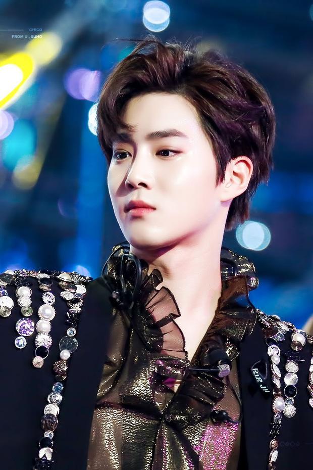 Bóc nhan sắc của dàn sao Hàn trên thực tế: V (BTS) - Suho (EXO) nổi là có lý do, mợ chảnh bỗng lộ diện giữa dàn idol - Ảnh 21.