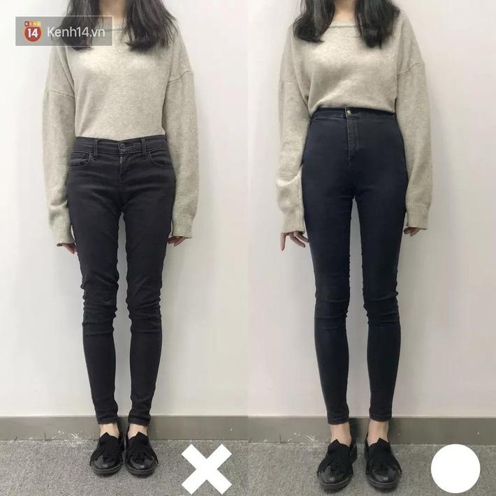 Nàng thấp bé mừng húm khi vớ được 5 cách chọn quần jeans hack chân dài, đã tôn dáng còn sang cả con người - Ảnh 1.
