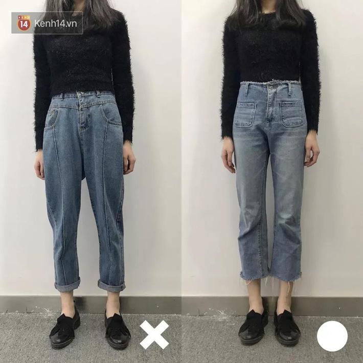 Nàng thấp bé mừng húm khi vớ được 5 cách chọn quần jeans hack chân dài, đã tôn dáng còn sang cả con người - Ảnh 5.