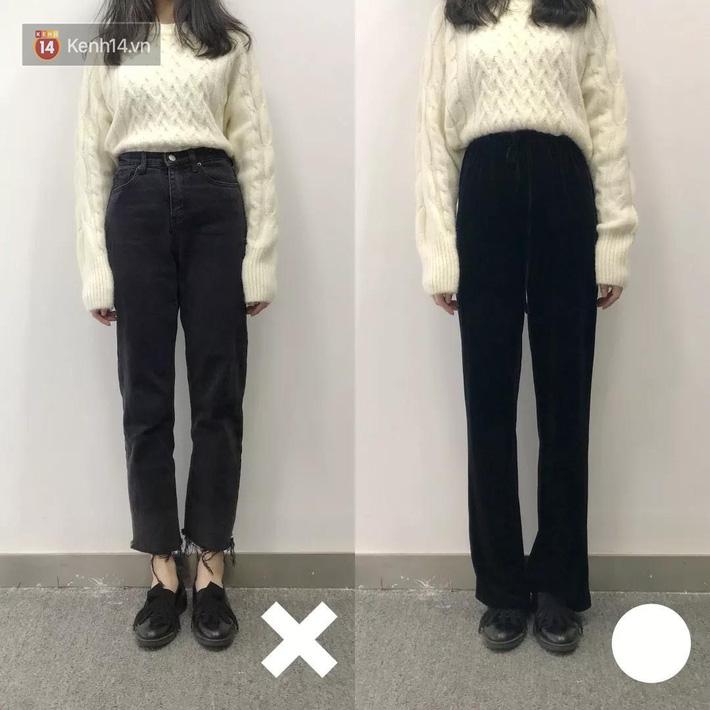 Nàng thấp bé mừng húm khi vớ được 5 cách chọn quần jeans hack chân dài, đã tôn dáng còn sang cả con người - Ảnh 3.