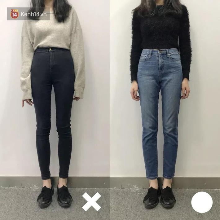 Nàng thấp bé mừng húm khi vớ được 5 cách chọn quần jeans hack chân dài, đã tôn dáng còn sang cả con người - Ảnh 2.