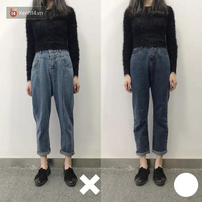 Nàng thấp bé mừng húm khi vớ được 5 cách chọn quần jeans hack chân dài, đã tôn dáng còn sang cả con người - Ảnh 4.