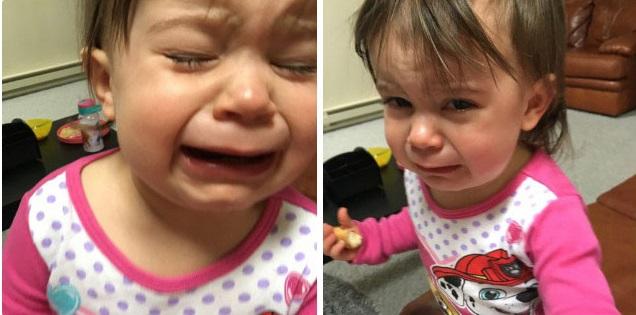 """""""Sao mẹ không ăn miếng bánh pizza đang nhai dở?"""" là một trong vô vàn những lý do của lũ trẻ mỗi khi thích khóc - Ảnh 14."""