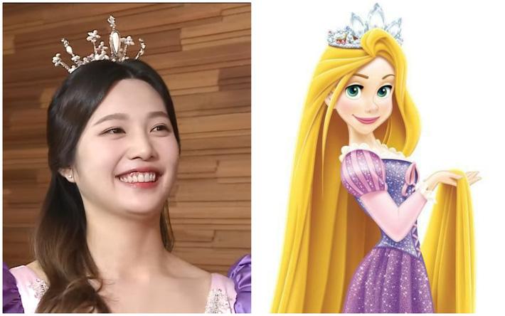 Nhờ stylist quá lậm phim hoạt hình, Joy (Red Velvet) bỗng dưng trở thành công chúa Disney đời thực tới gần chục lần - Ảnh 7.