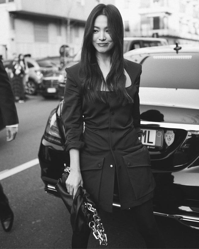 Song Hye Kyo lộ diện sau 20 ngày trở về từ Milan, gây chú ý vì khoảnh khắc này - Ảnh 3.