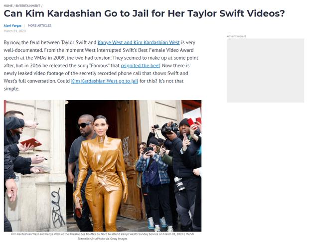 Thì thầm Hollywood: Kim có thể ăn quả đắng vì đặt bẫy Taylor, Justin Bieber ly hôn và sự thật sau loạt ồn ào gây sốc - Ảnh 3.