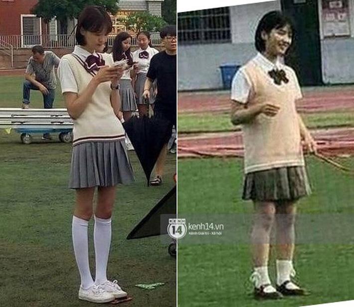 Nhìn loạt sao Trung - Hàn để thấy chân dài hơn là auto mặc đẹp hơn, bảo sao chị em nào cũng ham hố dùng app kéo chân - Ảnh 2.