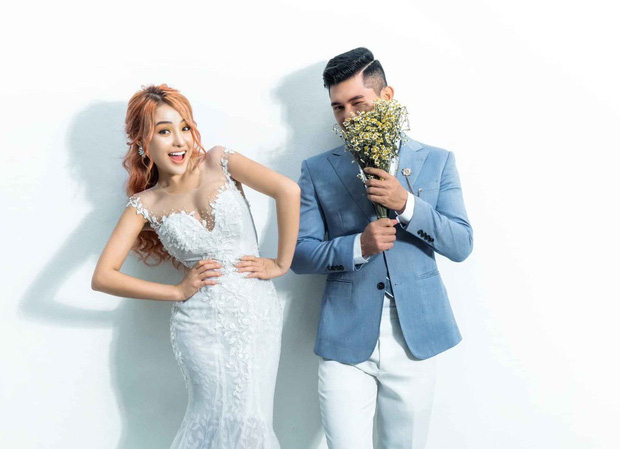 Lương Bằng Quang và Ngân 98 tung loạt ảnh cưới kèm tuyên bố hoãn lễ thành hôn vì COVID-19 - Ảnh 4.