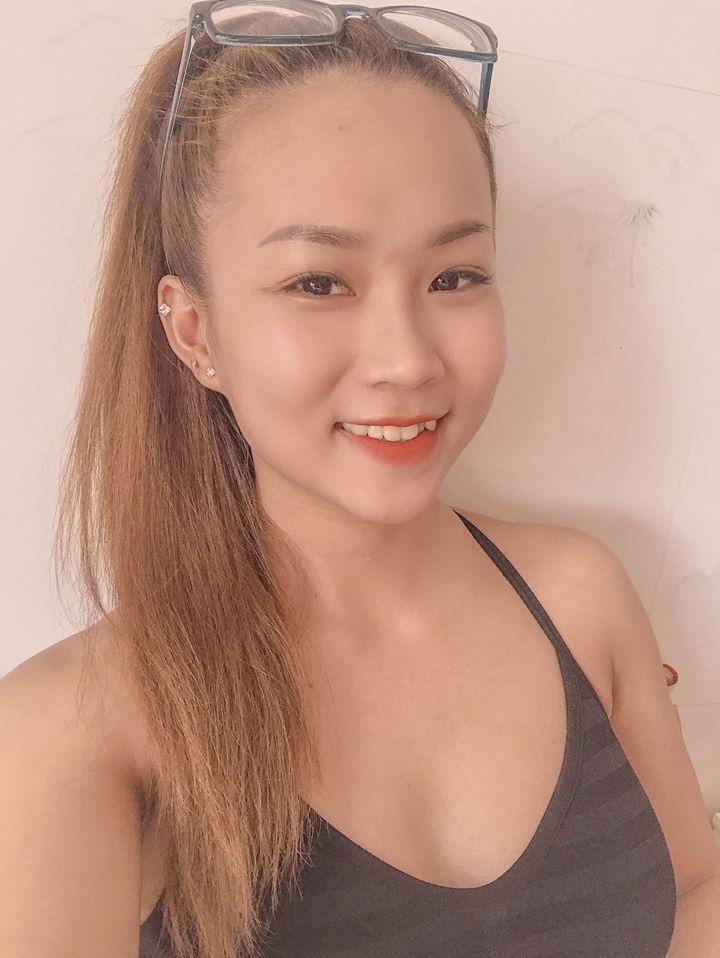 Nữ VĐV 9X có gương mặt sáng và nụ cười duyên