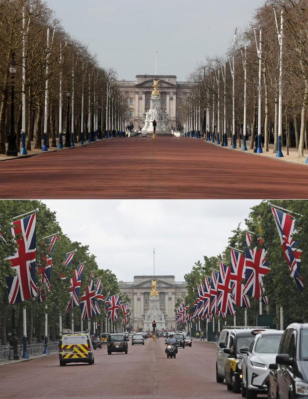 Loạt ảnh Before - After cho thấy London vắng lặng đến siêu thực sau lệnh phong tỏa để chống dịch Covid-19 - Ảnh 9.