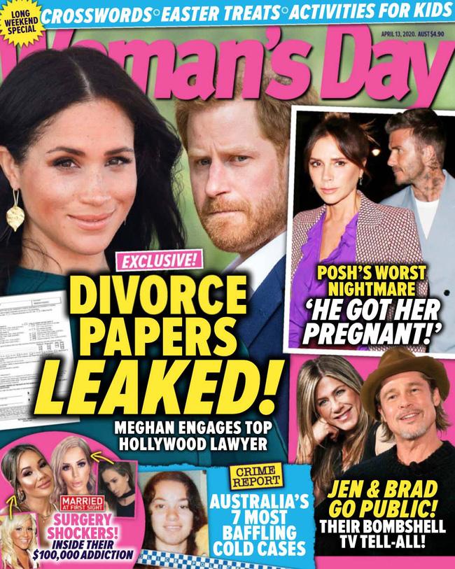 Vừa đến Mỹ sinh sống, vợ chồng Meghan Markle lại dính nghi án rò rỉ giấy tờ ly hôn - Ảnh 1.