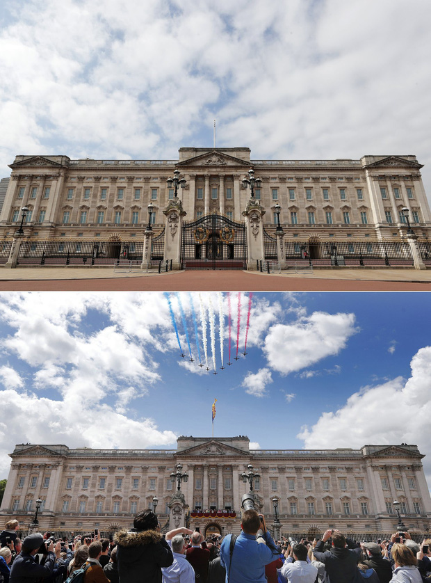 Loạt ảnh Before - After cho thấy London vắng lặng đến siêu thực sau lệnh phong tỏa để chống dịch Covid-19 - Ảnh 8.