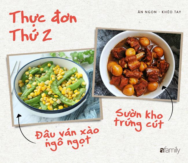 Không còn nghỉ dịch ở nhà, hội chị em bận rộn lên thực đơn ăn tối cho cả tuần đơn giản nhưng vừa ngon vừa dinh dưỡng  - Ảnh 2.