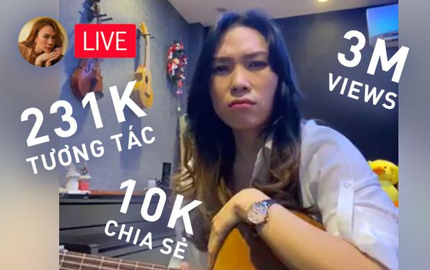 Mỹ Tâm livestream hát sương sương mà đi vào lịch sử Vpop: Sau 1 ngày đạt 3 triệu view, hàng trăm nghìn tương tác, hơn 10 nghìn share và hot banh MXH - Ảnh 1.