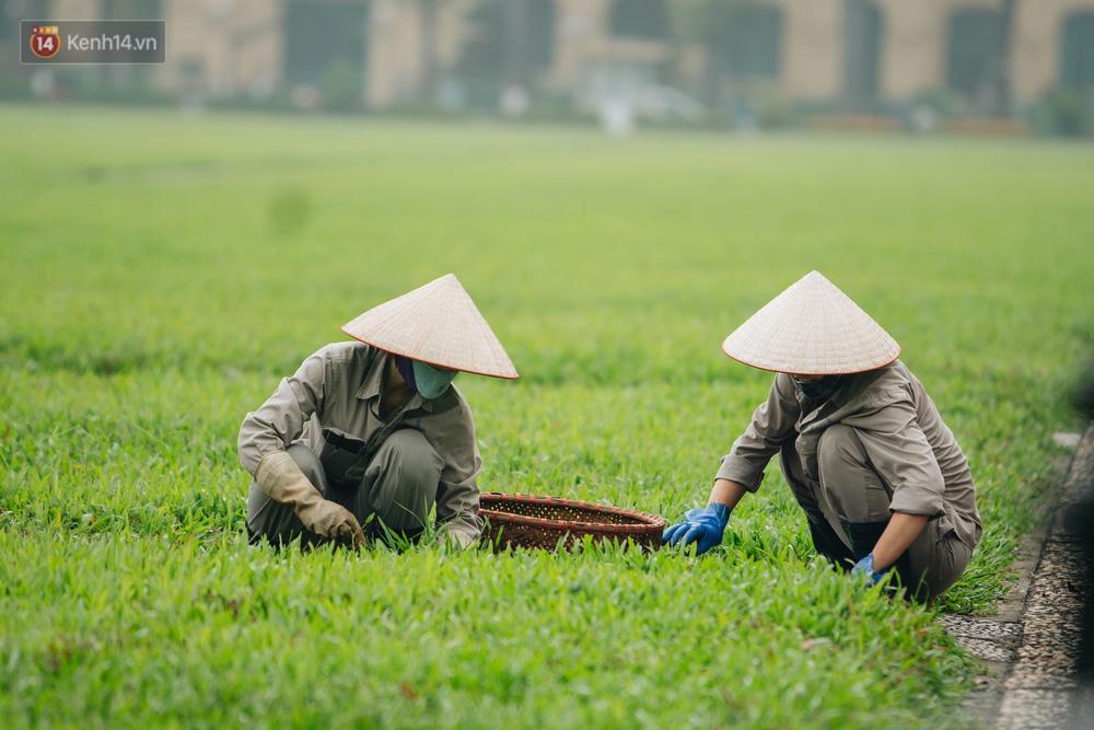 130 năm sinh nhật Bác Hồ: Người Hà Nội đến dự lễ chào cờ ở Quảng trường Ba Đình lịch sử, phố phường rực rỡ cờ hoa - Ảnh 11.