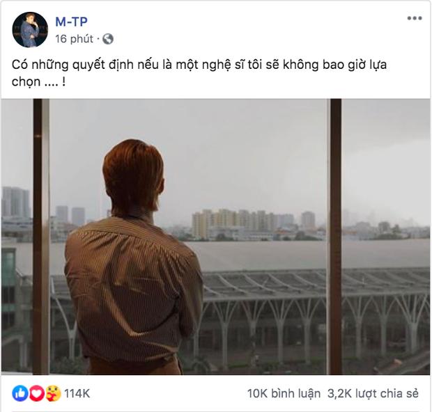 Lâu lắm mới thấy Sơn Tùng M-TP xuất hiện trên MXH nhưng cả ảnh và status lại đầy tâm trạng, chuyện gì đây? - Ảnh 2.