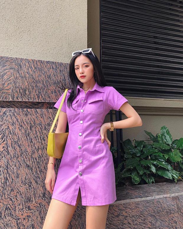 Hè này mà không sắm đồ màu tím lilac thì tụt hậu quá, mách ngay cho chị em 10 món xinh xẻo sành điệu giá từ 300k kèm luôn chỗ mua  - Ảnh 4.