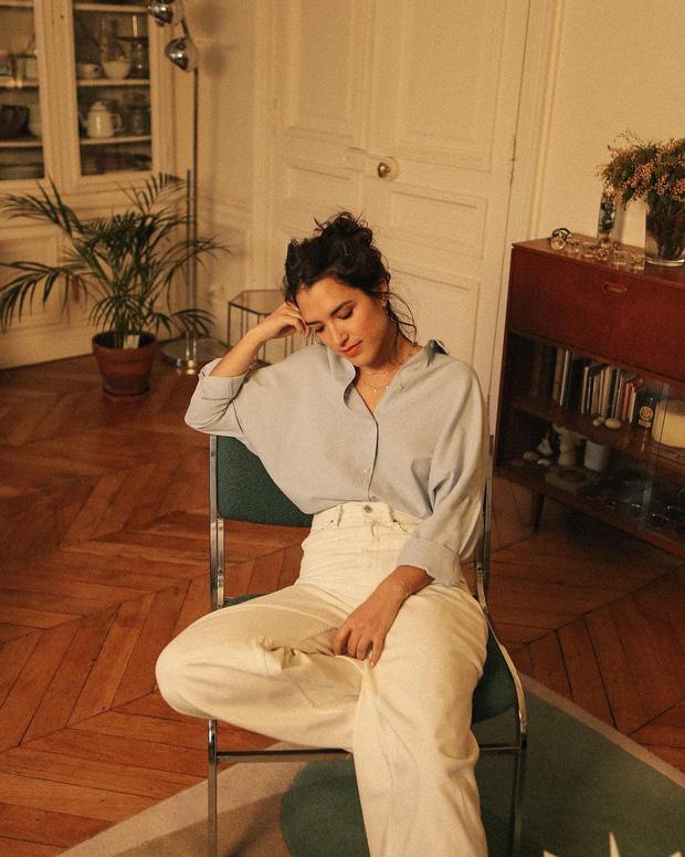 Không phải kiểu quần nào cũng lọt vào mắt xanh của phụ nữ Pháp, họ cứ diện quanh 4 mẫu chuẩn thanh lịch sau đây thôi - Ảnh 4.