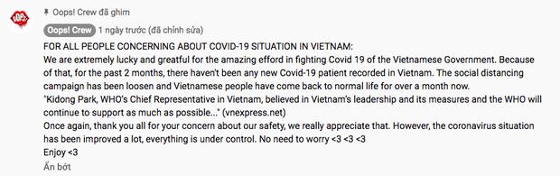 Khi thế giới vẫn đang gồng mình chống Covid-19 thì giới trẻ Việt Nam lên phố đi bộ dance cover quẩy tung, netizen quốc tế ghen tị hết sức! - Ảnh 4.