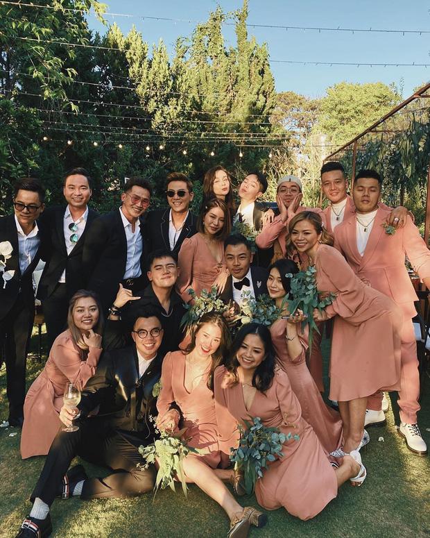 Dậy sóng hình nét căng hiếm hoi trong hôn lễ kín của Tóc Tiên: Nhan sắc cô dâu nổi bật giữa dàn phù dâu toàn hotgirl - Ảnh 6.