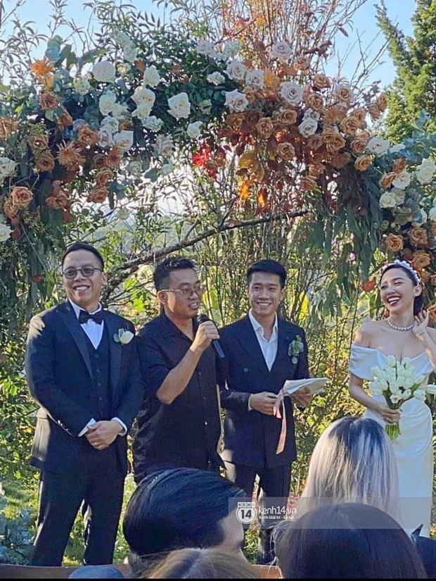Dậy sóng hình nét căng hiếm hoi trong hôn lễ kín của Tóc Tiên: Nhan sắc cô dâu nổi bật giữa dàn phù dâu toàn hotgirl - Ảnh 4.