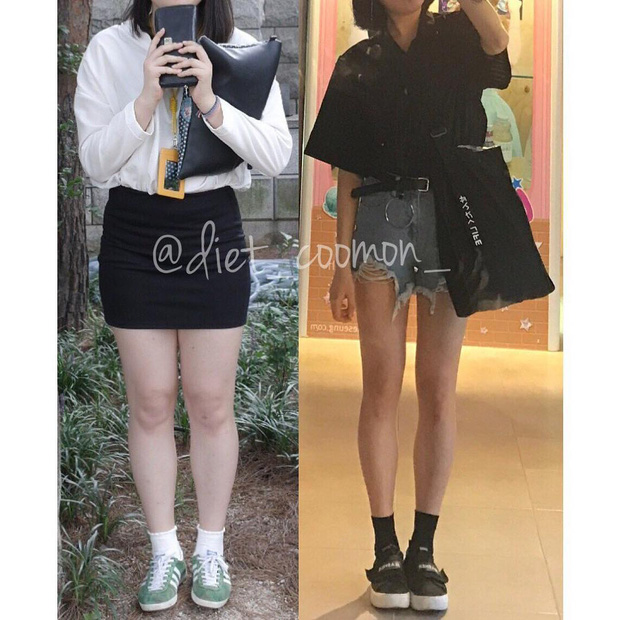 Giảm 20kg trong 6 tháng không phải một giấc mơ: cô gái Hàn Quốc chia sẻ bí quyết lấy lại body thon gọn, bonus thêm cách thu nhỏ bắp chân - Ảnh 2.