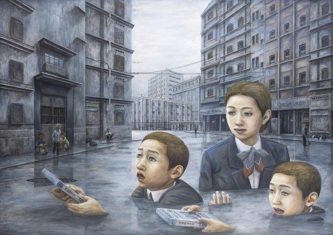 Qua đời ở tuổi 31, họa sĩ Nhật để lại loạt tác phẩm siêu thực ám ảnh thế giới, nhiều dân công sở thấy mình trong đó - Ảnh 7.