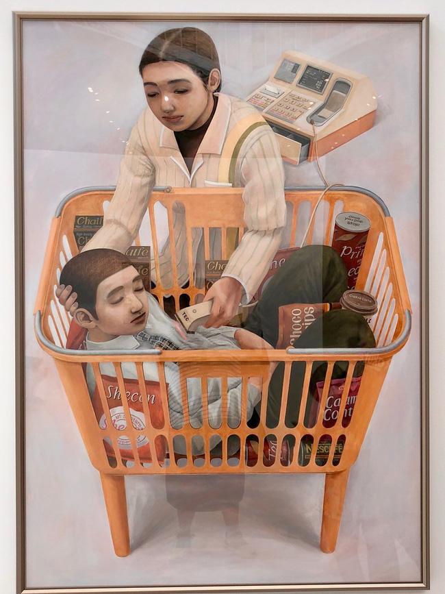 Qua đời ở tuổi 31, họa sĩ Nhật để lại loạt tác phẩm siêu thực ám ảnh thế giới, nhiều dân công sở thấy mình trong đó - Ảnh 13.