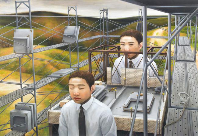Qua đời ở tuổi 31, họa sĩ Nhật để lại loạt tác phẩm siêu thực ám ảnh thế giới, nhiều dân công sở thấy mình trong đó - Ảnh 2.
