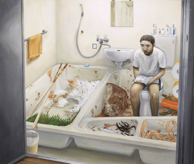 Qua đời ở tuổi 31, họa sĩ Nhật để lại loạt tác phẩm siêu thực ám ảnh thế giới, nhiều dân công sở thấy mình trong đó - Ảnh 8.