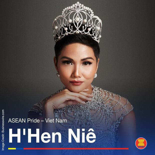 ASEAN vinh danh HHen Niê là Niềm tự hào của Đông Nam Á, trở thành biểu tượng lịch sử của nhan sắc Việt - Ảnh 2.