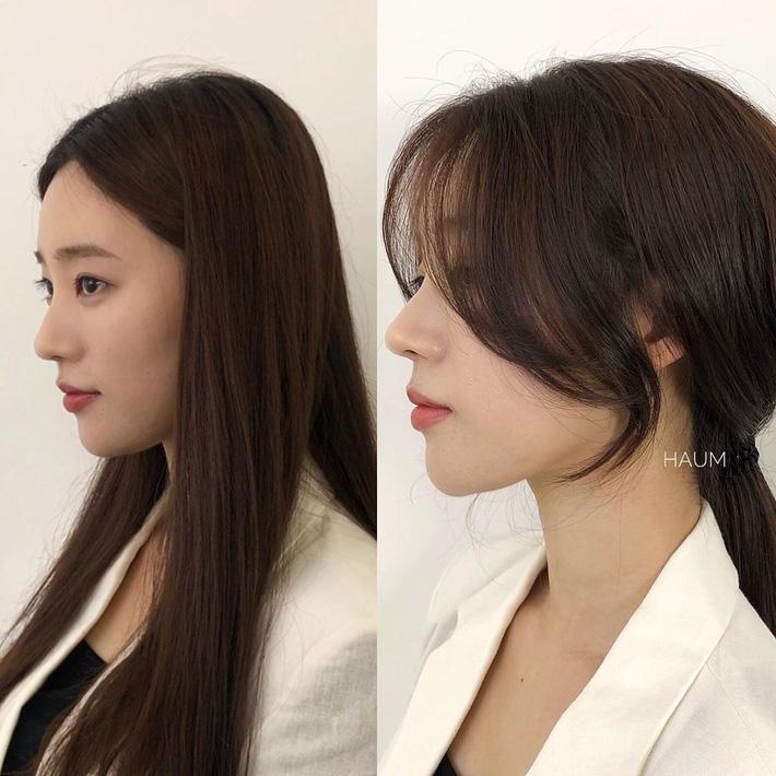 """Để kiểu tóc mái cong chữ S thì mặt nào cũng được """"nịnh"""", """"biến hình xinh lên trông thấy - Ảnh 1."""