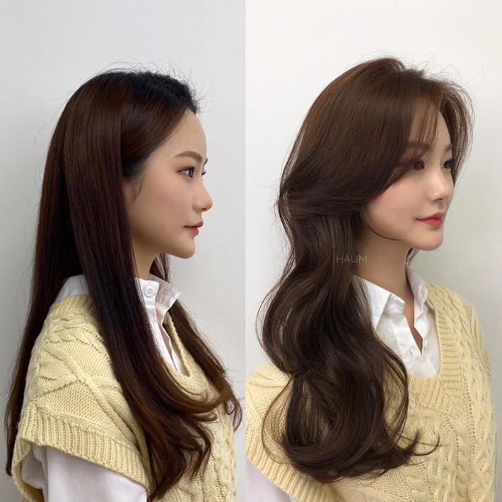 """Để kiểu tóc mái cong chữ S thì mặt nào cũng được """"nịnh"""", """"biến hình xinh lên trông thấy - Ảnh 9."""