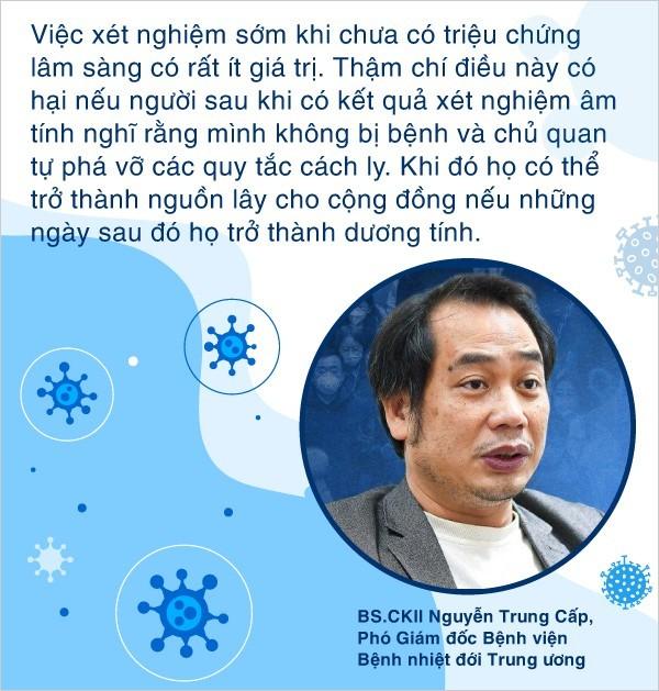 Hiểu đúng về test nhanh ở Hà Nội - Lý giải tại sao test âm tính vẫn phải tự cách ly đủ 14 ngày trước khi tái hòa nhập cộng đồng - Ảnh 2.