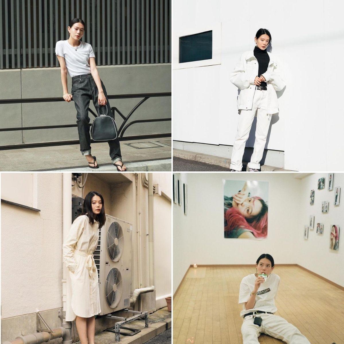 blogger thời trang người mẫu nhật phong cách tối giản nairu yamamoto