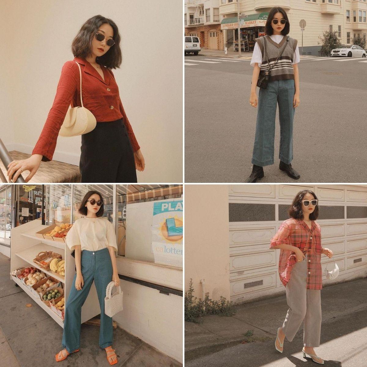 blogger thời trang phong cách menswear vivid wu