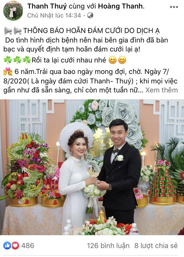 6 năm hẹn hò hay 9 năm đằng đẵng yêu xa, nhiều bạn trẻ vẫn chấp nhận hoãn đám cưới để ngăn chặn dịch Covid-19 - Ảnh 3.