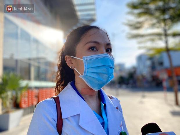 Nữ bác sỹ trẻ xinh đẹp ở Bình Định xung phong vào tâm dịch chi viện cho Đà Nẵng: Khi nào hết dịch con mới về! - Ảnh 5.