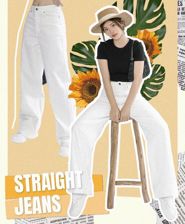 """4 chiêu mặc đẹp với quần jeans trắng bạn nhất định phải """"găm"""" nếu muốn cải tổ style bình bình - Ảnh 9."""