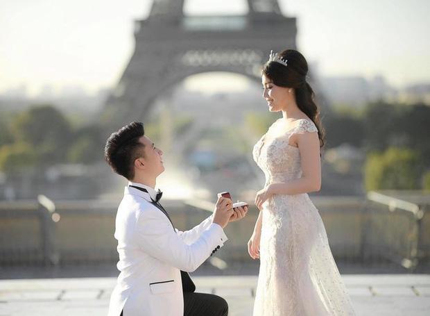 Ảnh cưới của Âu Hà My bất ngờ được chia sẻ rầm rộ vì concept giống nhà... Huỳnh Hiểu Minh - Angela Baby - Ảnh 1.