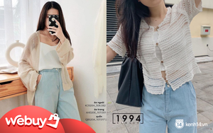 Kiểu áo bạn nên sắm trước tiên thu này chính là cardigan len móc, diện lên xinh chuẩn Hàn Quốc