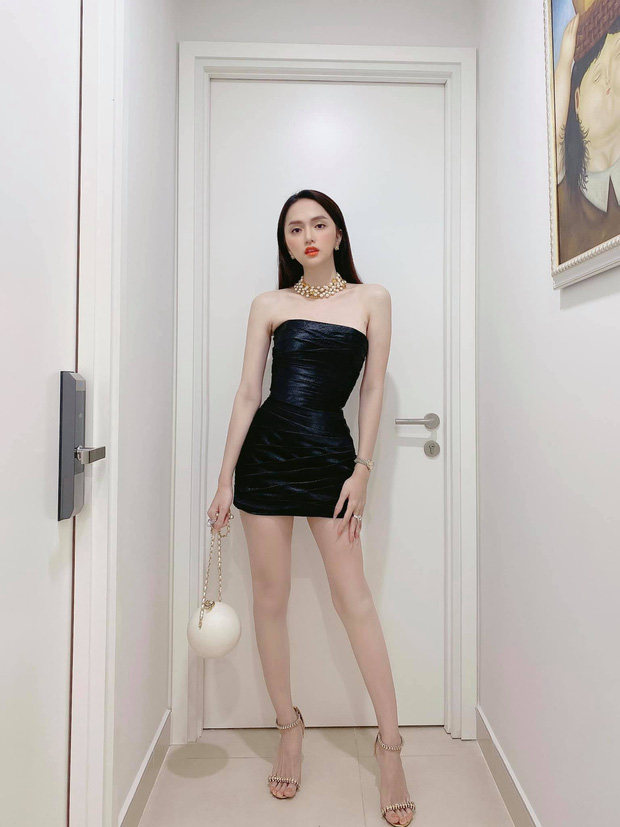 Full không che diện mạo Hương Giang trong buổi hẹn hò tối qua, lên đồ hiệu khoe body sexy thế này bảo sao Matt Liu mê - Ảnh 2.